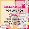 Bon Cadeaux POP UP SHOP Open!